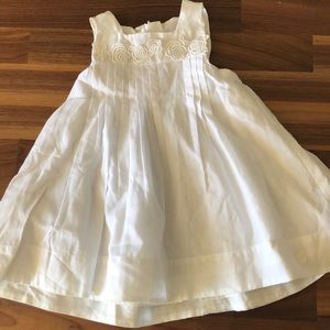 Baby Dior White Dress